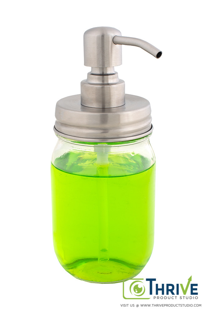 amazon product photography soap dispenser