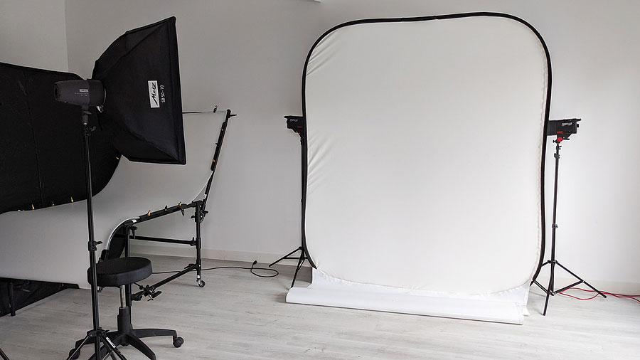 a white background for photography